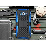 Galaxy Grand Prime Case, Cocomii Grenade Armor NEW [Heavy Duty] Premium Tactical Grip Kickstand Shockproof Hard Bumper Shell [Military Defender] Full Body Dual Layer Rugged Cover Samsung G530 (Blue)