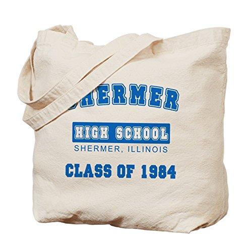 Cafepress–Shermer classe del 1984–Borsa di tela naturale, tessuto in iuta