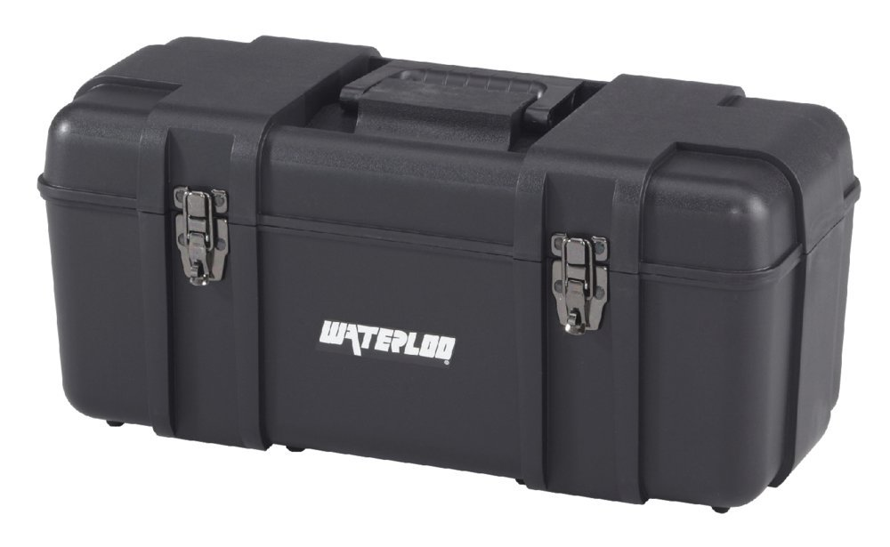 Waterloo Portable Series Tool Box made with Lightweight Industrial-Strength Plastic, 20''