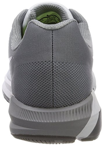Nike Mens Air Zoom Structure 21 Scarpa Da Corsa In Puro Platino / Grigio Antracite