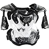Fox Racing R3 Roost Deflector Black (Large 06091-001-L)