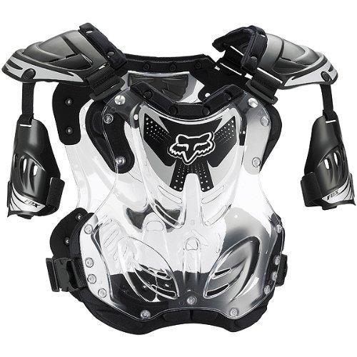 Fox Racing R3 Roost Deflector Black (Large 06091-001-L)