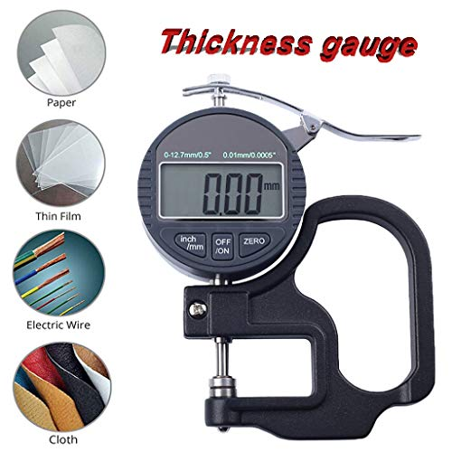 ️ Yu2d ❤️❤️ ️Digital Thickness Gauge Thickness Meter Precise Electronic with LCD Display