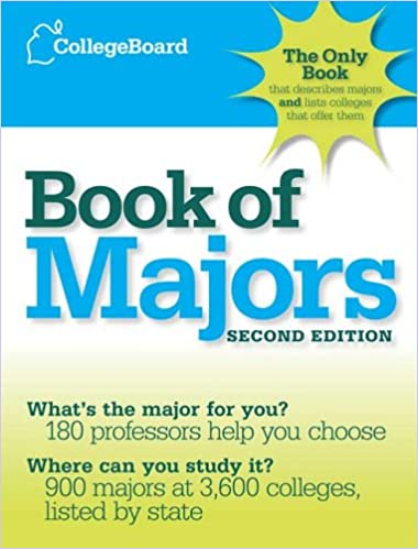 The College Board Book of Majors: 2nd Edition