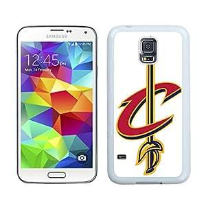 Fashionable Antiskid Cover Case For Samsung Galaxy S5 I9600 G900a G900v G900p G900t G900w With Cleveland Cavaliers 4 White Phone Case
