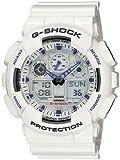 Kyпить G-Shock GA100A-7A X-Large Men's White Resin Sport Watch на Amazon.com