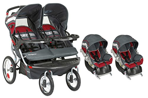 Baby Trend Navigator Double Jogger Travel System