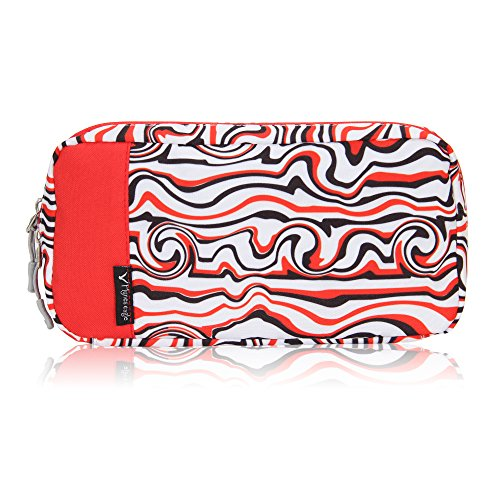 - Hynes Eagle Cord Organizer Small Electronics Case Gadget Pouch Phone Accessories Storage Bag Waves