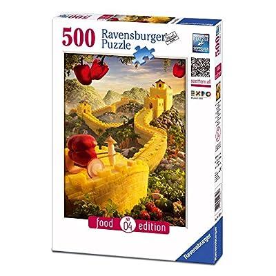 Ravensburger 14679 Food Edition Puzzle La Grande Muraglia Di Ananas 500 Pezzi