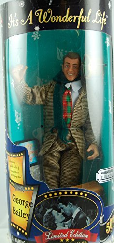 It's a Wonderful Life - George Bailey Figurine - COLLECTOR'S 50TH EDITION