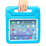 iPad Mini Case – Travellor® Kids Light Weight Kido Series Convertible Handle Kickstand Kids Friendly Protective Shockproof Cover with Stand & Handle for Apple iPad Mini (Blue, iPad Mini)