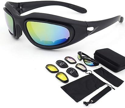 YUEFF Gafas Sol Polarizadas Ciclismo Gafas De Sol Deportivas Gafas Ciclismo Polarizadas con 3 Lentes Intercambiables Antivaho Antireflejo Anti: Amazon.es: Deportes y aire libre