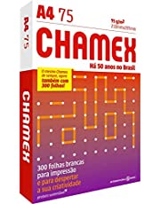 Papel Chamex A4 Sulfite 75g Resma De 300 Folhas