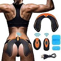 SHENGMI Hips Trainer Electrostimulateur Musculaire Hanches EMS Electrostimulation électrostimulateur conçu pour Fesses...