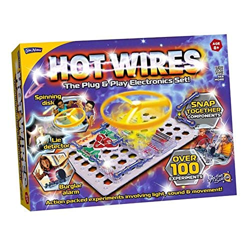 John Adams Hot Wires Electronics Kit from
