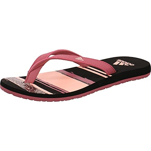 adidas Eezay Flip Flop, Chaussures de Sports Aquatiques Femme, Multicolore (Tramar/Cleora/Cblack B43550), 40.5 EU