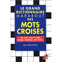 GRAND DICTIONNAIRE DES MOTS CROISÉS