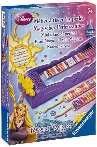 Ravensburger - 18304 - Loisir Créatif - Métier à Tisser - Les Perles Disney Princesse Raiponce