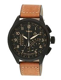 Timex Intelligent Quartz Analog Black Dial Men's Watch - T2P277