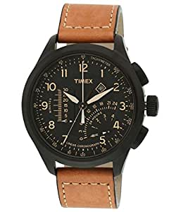Amazon.com: Timex Intelligent Quartz Analog Black Dial Men ...