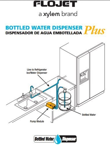 Flojet BW4003-000A agua embotellada dispensador bomba, 240 V y 3/8 Push Fit: Amazon.es: Iluminación