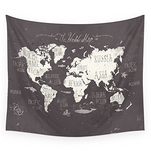 World map flag amazon society6 the world map wall tapestry small 51 x 60 gumiabroncs Image collections