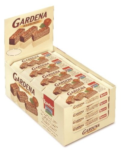 Chocolate Covered Wafer - Loacker Gardena Hazelnut Wafers (25/1.34oz)