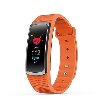 Lintelek Fitness Tracker, Rastreador De Actividad Personalizado Con Monitor De Ritmo Cardíaco, 14 Modos