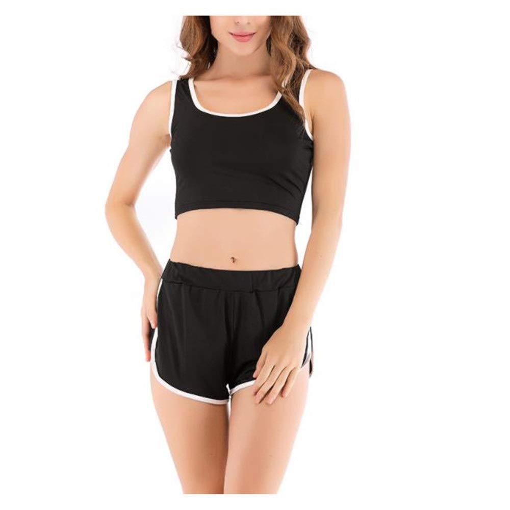 Trainingsbekleidung Frauen Sport Yoga Kleidung Sexy U-Ausschnitt Yoga Kleidung nackten Knopf Sportswear Shorts Startseite Freizeit Fitness Laufbekleidung Sportyoga-Turnhalle der Westefrauen entspricht