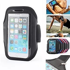 LCJ Lightweight Sporty Armband with Key Slot for iPhone 6 (Assorted Colors) , Rose