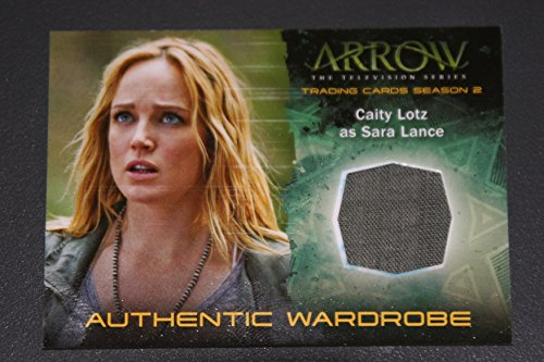 2015 Arrow The Television Show Season 2 Trading Card Wardrobe M22 Caity Lotz as Sara Lance