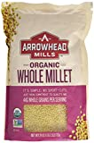 Arrowhead Mills Organic Whole Millet, 28 Ounce (Pack of 6)