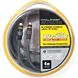 Ultralink Challenger Home Theatre Series S-Video Cable 6.5 ft (2 Meter)