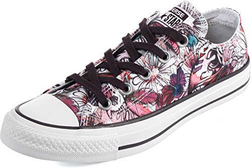 Converse - Chuck Taylor All Star Zapatos de la impresión de la margarita Daybreak Pink
