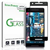 Electronics : Google Pixel 2 Screen Protector Glass, amFilm Google Pixel 2 Tempered Glass Screen Protector Dot Matrix for Google Pixel 2 0.3mm (1 Pack)