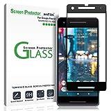 Google Pixel 2 Screen Protector Glass, amFilm Google Pixel 2 Tempered Glass Screen Protector Dot Matrix for Google Pixel 2 0.3mm (1 Pack)