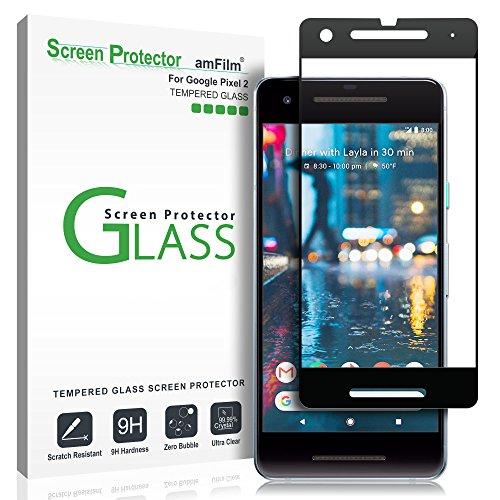 Google Pixel 2 Screen Protector Glass, amFilm Google Pixel 2