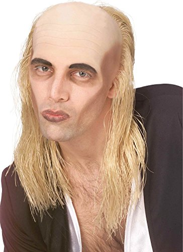 Mens Riff Raff Rocky Horror Show Blonde / Bald Fancy Dress Costume Outfit Wig (One Size)