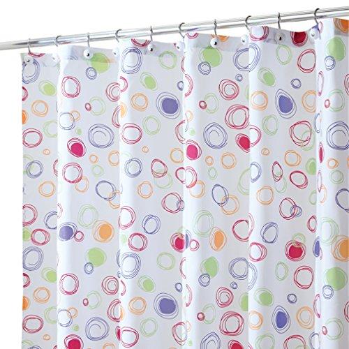 Stylish Polka Dot Shower Curtains