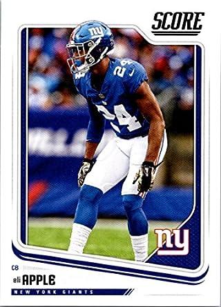 huge selection of b59e2 bad25 Amazon.com: 2018 Score #228 Eli Apple New York Giants ...