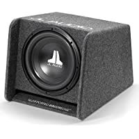 JL Audio CP112-W0v3 Single 12 12W0v3-4 Loaded Ported Enclosure with Gray Carpet Finish