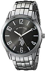 U.S. Polo Assn. Classic Men's USC80038 Gunmetal-Tone Bracelet Watch