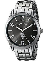 U.S. Polo Assn. Classic Men's USC80038 Gunmetal-Tone Bracelet Watch
