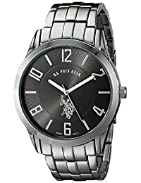 U.S. Polo Assn. Men's Analogue Dial Bracelet Watch Black USC80038