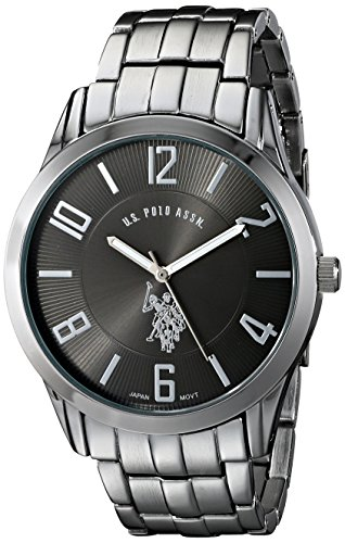 U.S. Polo Assn. Classic Men's USC80038 Gunmetal-Tone Dial - Polo Big Watch