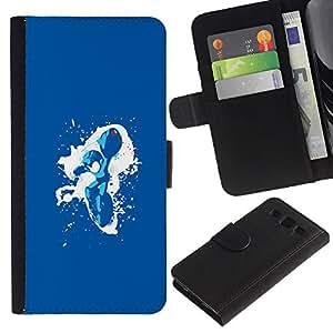 JackGot ( Metroid Splash ) Samsung Galaxy S3 III I9300 la tarjeta de Crédito Slots PU Funda de cuero Monedero caso cubierta de piel