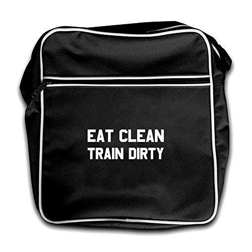 Black Dressdown Clean Eat Bag Train Red Retro Dirty Flight 887rp