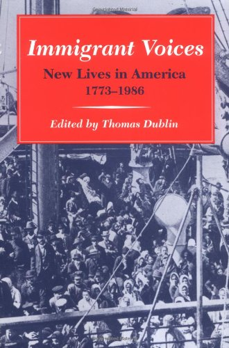 the portrayal of immigrant plights in thomas dubins book immigrant voices