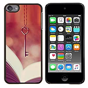 Stuss Case / Funda Carcasa protectora - Coeur Lecture Vignette - Apple iPod Touch 6 6th Touch6