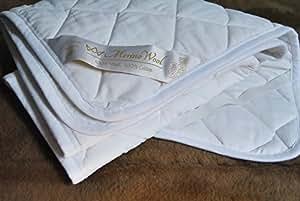 Colchón Reversible caliente 100% lana Merino manta tamaño de la hoja: 90 x 200 cm